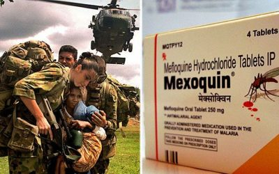 Veteran likens anti-malaria pill's effects to Agent Orange